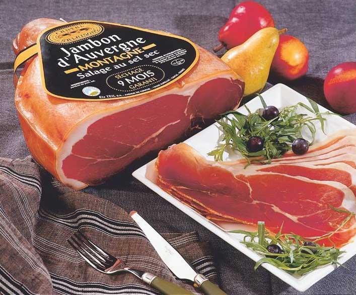 Jambon d'Auvergne - Cantal Salaisons