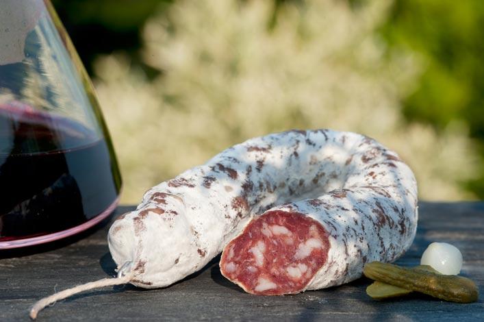 Saucisse sèche d'Auvergne - Salaisons du Lignon