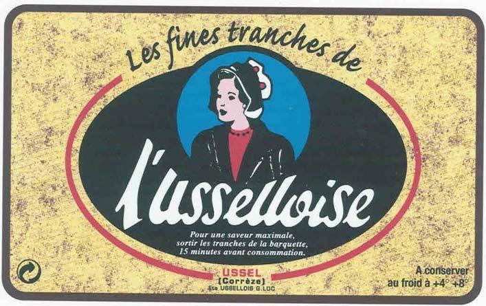 Etiquette - L'Usselloise